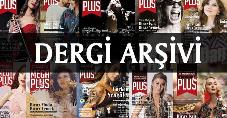 MegaPlus Dergisi Arşiv Sayfası