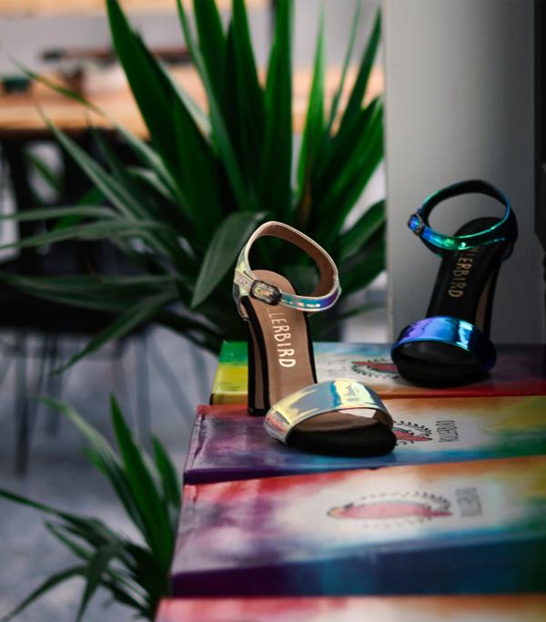 Rollerbird Whirring Colors topuklu Ayakkabı - MegaPlus Dergisi 34. Sayı