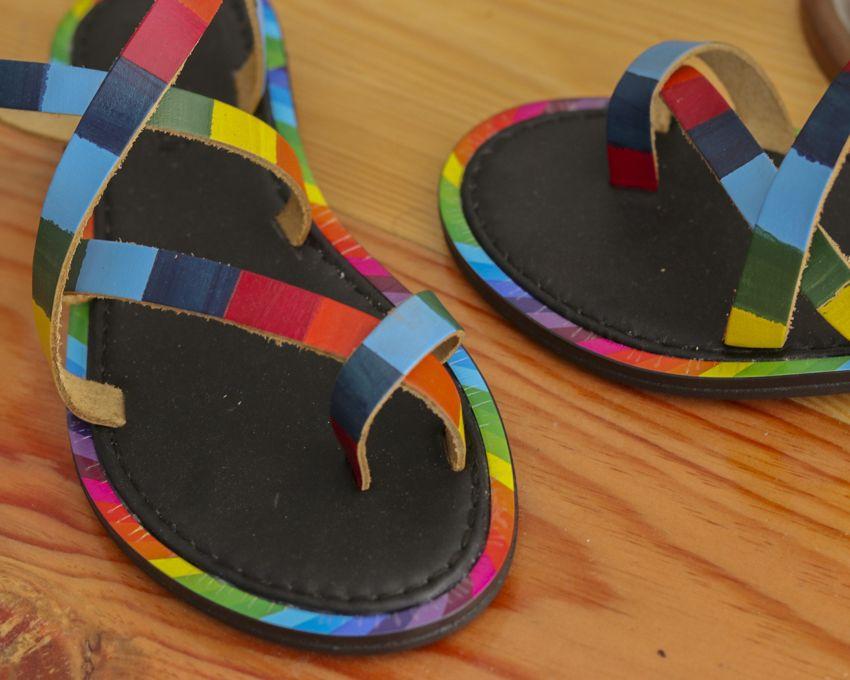 Rollerbird Whirring Colors parmak arası Ayakkabı - MegaPlus Dergisi 34. Sayı