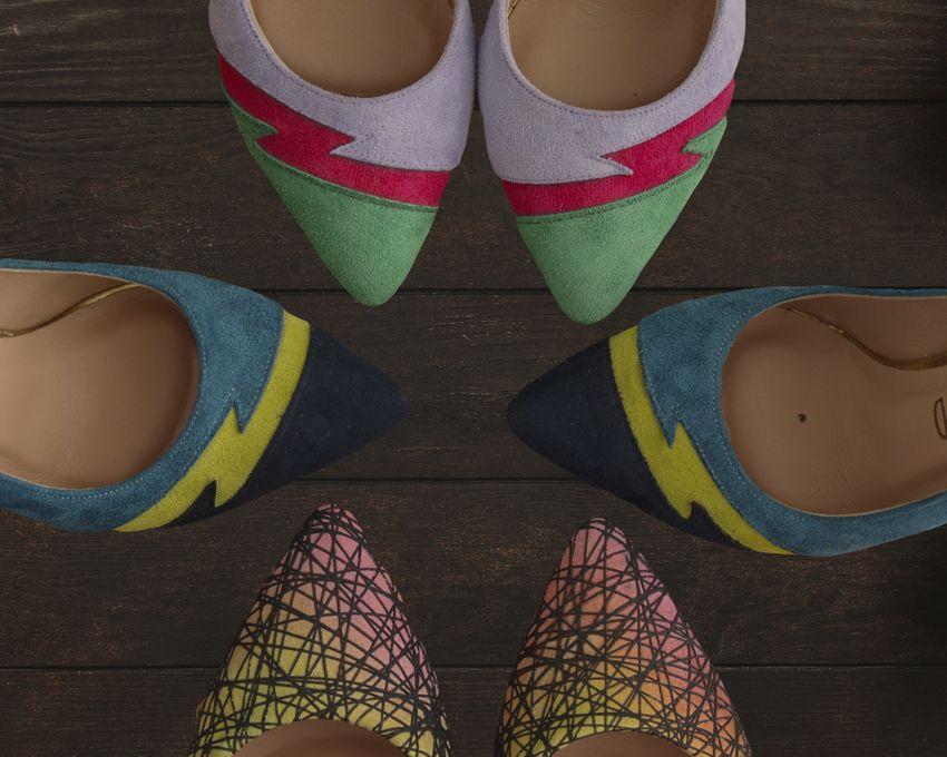 Rollerbird Whirring Colors sivri burun ayakkabı Ayakkabı - MegaPlus Dergisi 34. Sayı