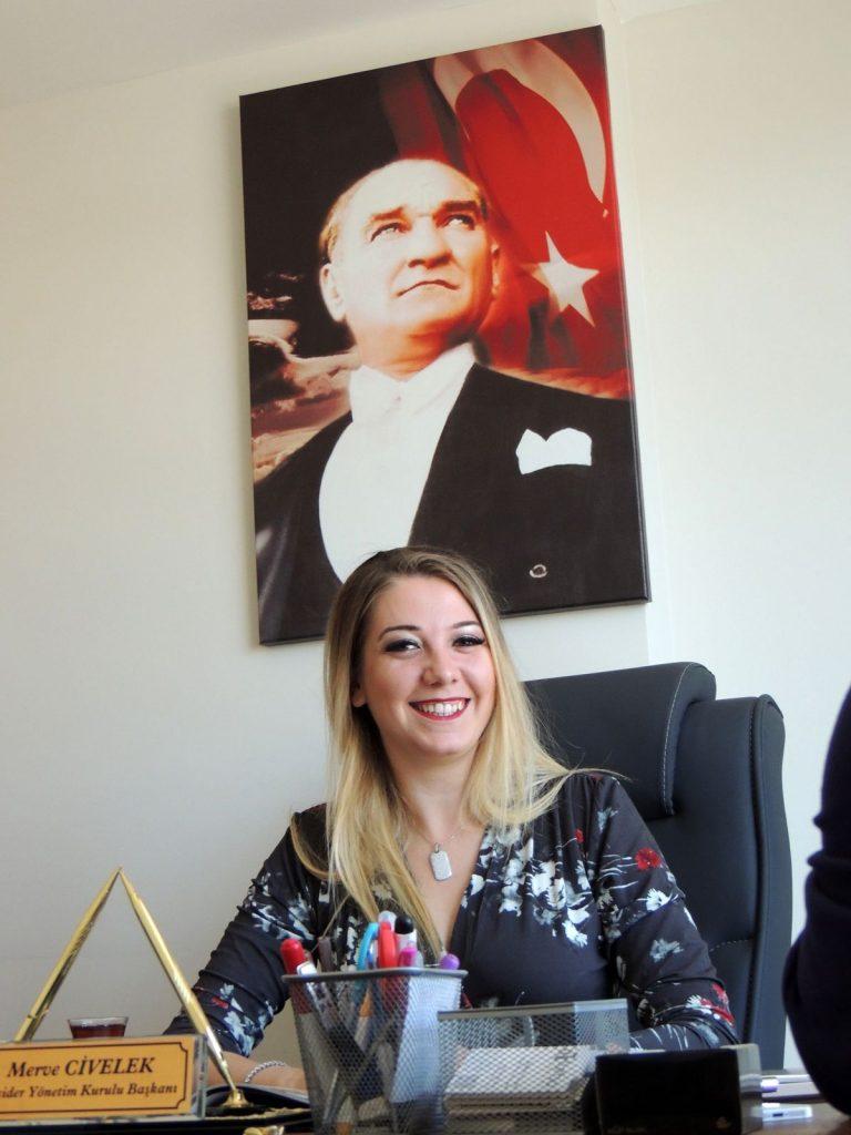 Ataoğulları Danışmanlık Yönetim Kurulu Başkanı ve Girişimciler ve İş Dünyası Derneği (GİSİDER) Başkanı da olan Merve Civelek ile röportaj, Erkan Sevinç, Megaplus Dergisi 37. Sayı